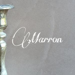 Marron Beton Ciré