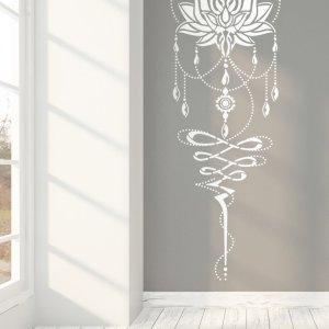 Lotus Flower of Life 205 cm x 65 cm