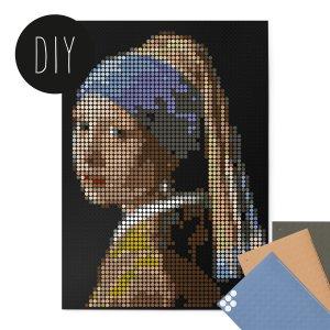 Vermeer DIY poster 50 x 70 cm