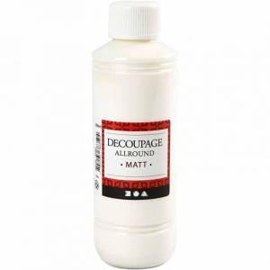 decoupage lijm en matte lak 250 ml