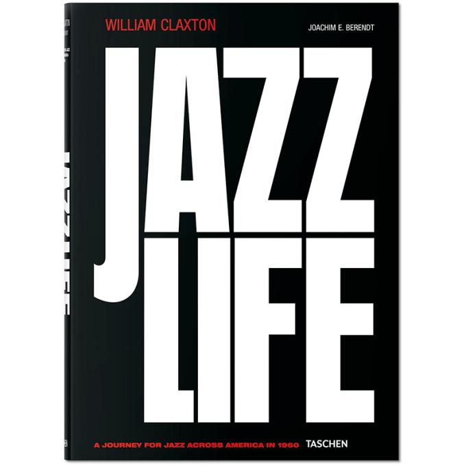 livre jazz life taschen
