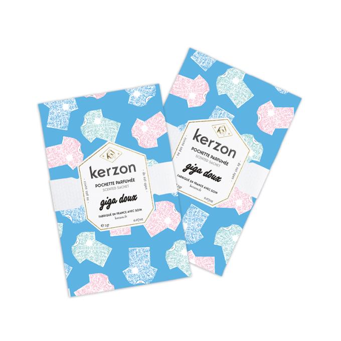pochettes parfumées kerzon