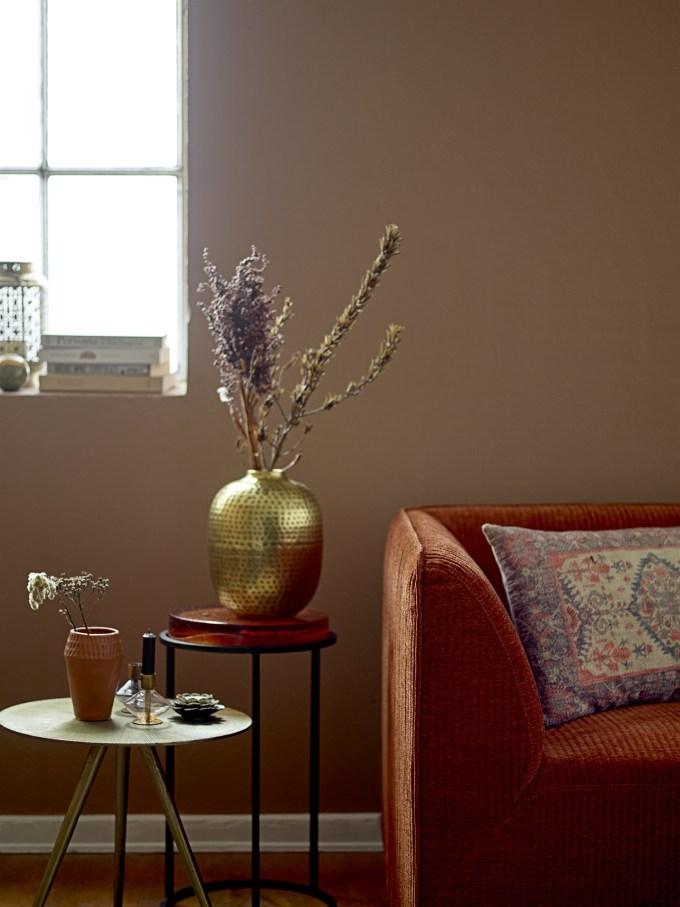 vase en laiton bloomingville