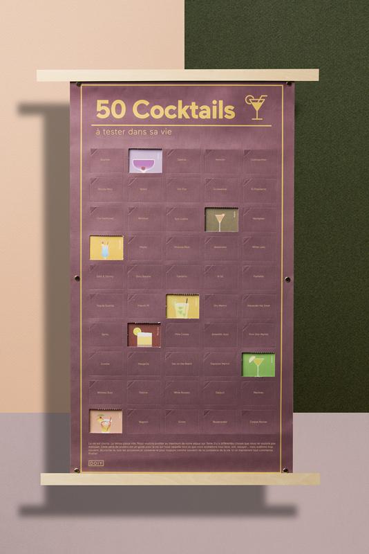50 cocktails à boire dans sa vie DOIY