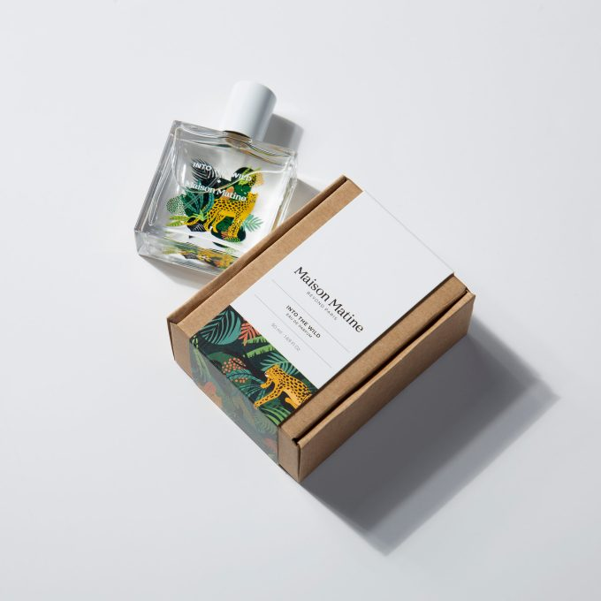 parfum into the wild maison matine