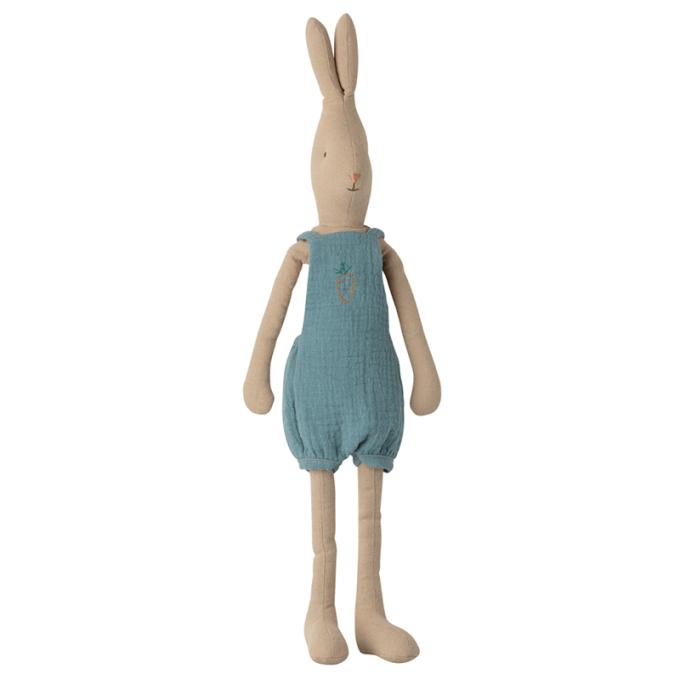 doudou lapin garcon bleu maileg