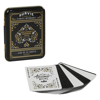 jeu de carte impermeable wild and wolf