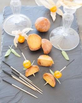 La mini figues farcies au foie gras, petite dernière de la marque, a déjà sa place parmi les grands.
