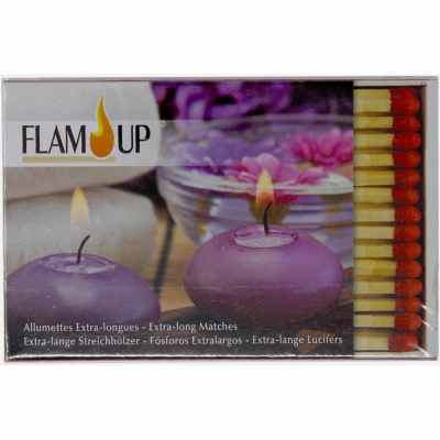 FLAM' UP - Allumettes Extra-longues Cheminée