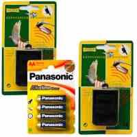 Repousseur Anti Pigeon à ULTRASONS pour Oiseaux (2 repousseurs + 4 Piles LR06)