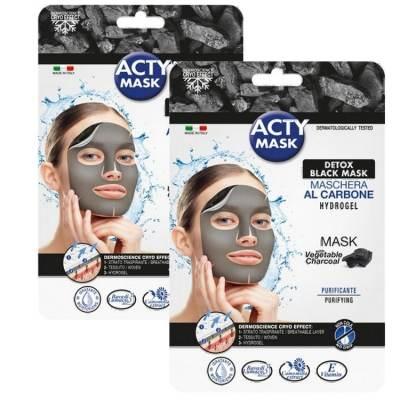 ACTY-MASK-2-masques-tissu-hydrogel-détoxifiant-au-charbon