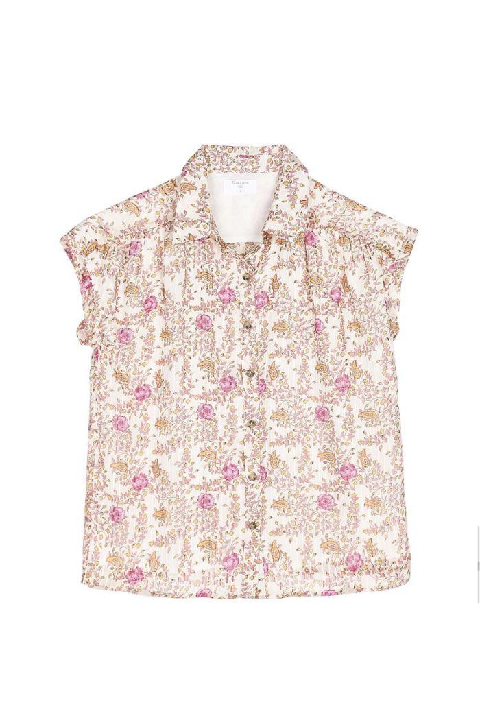 Garance, garance paris, chemise à fleur, motif printemps,