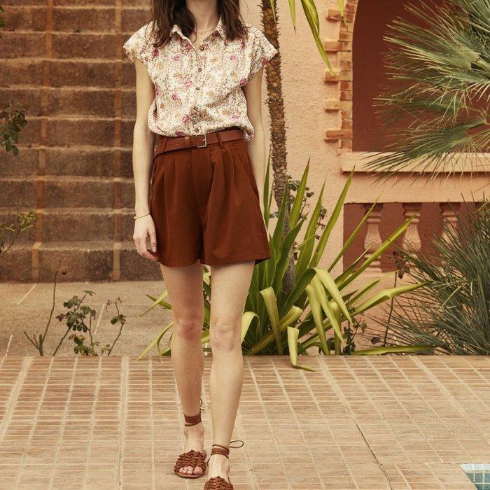 chemise, Garance, Garance paris, chemise à fleur, chemise, printanier, motifs printemps