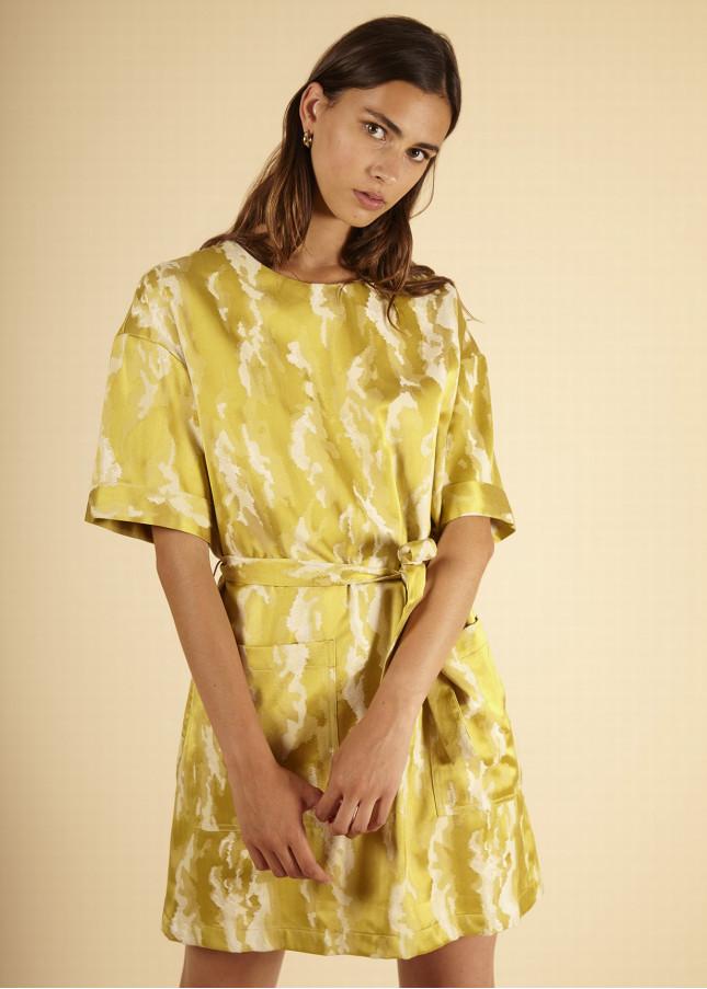 Frnch, Robe, robe jaune