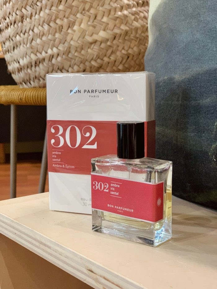 parfum, bon parfumeur, made in france, cruelty free, parfums naturels, parfum bon parfumeur, parfum 302, bon parfumeur 302