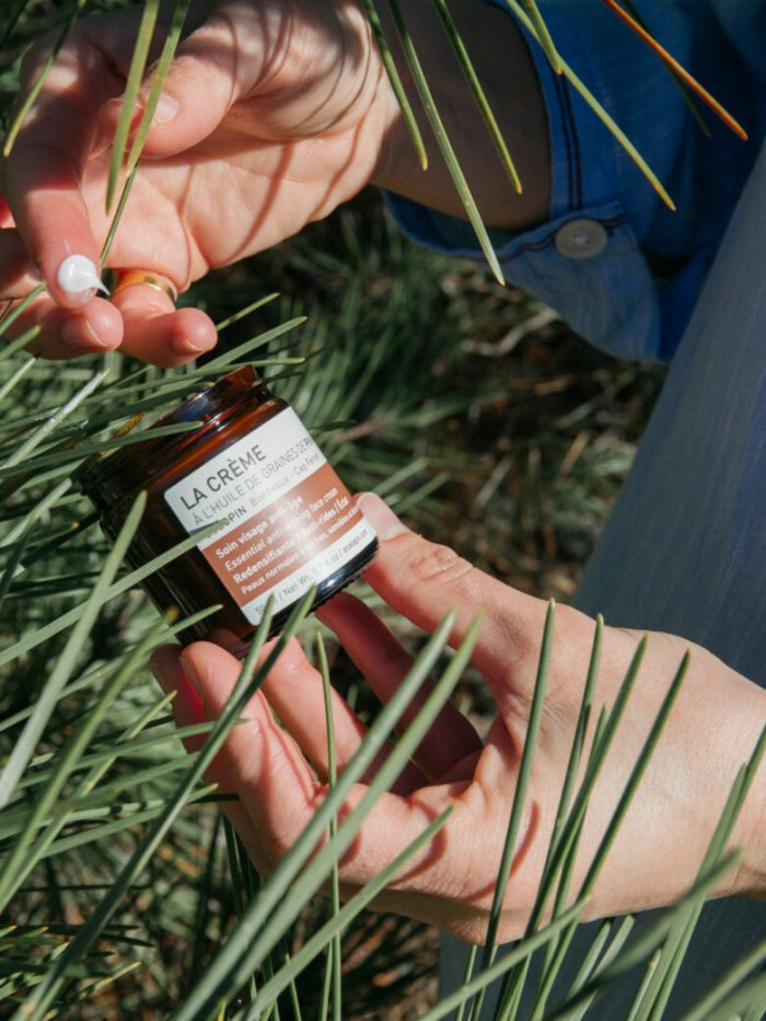 crème anti-age oceopin, océopin, pin maritime, cosmetique bio, cosmetique naturelle, cap ferret, cosmetique france