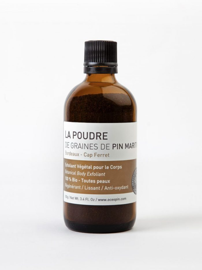 poudre d'or oceopin, océopin, pin maritime, cosmetique bio, cosmetique naturelle, cap ferret, cosmetique france