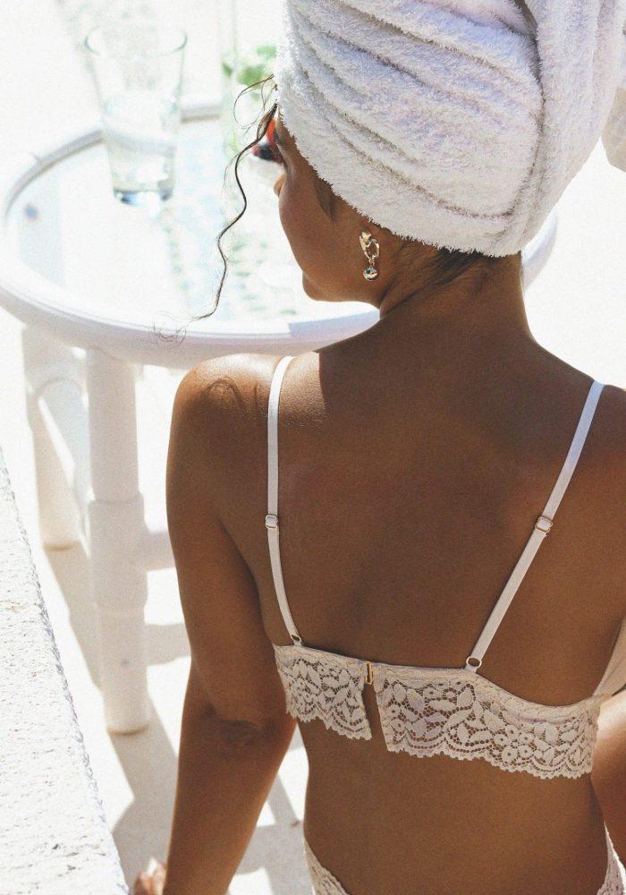 ensemble dulce, icône lingerie, lingerie en dentelle, triangle dulce, culotte dulce