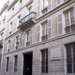 Paris rue du mont Thabor - Alfred de Musset