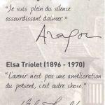 Elas Triolet et Louis Aragon