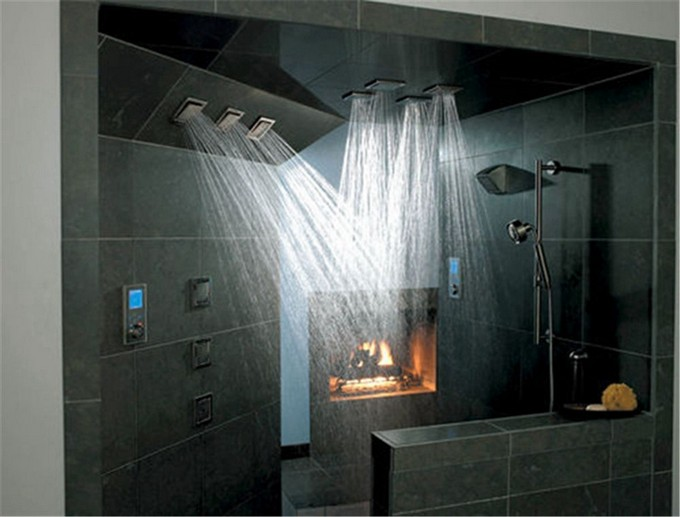 10 Showers For Luxury Bathroom