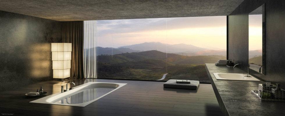 10 Sunken Bathtubs For Modern Bathroom