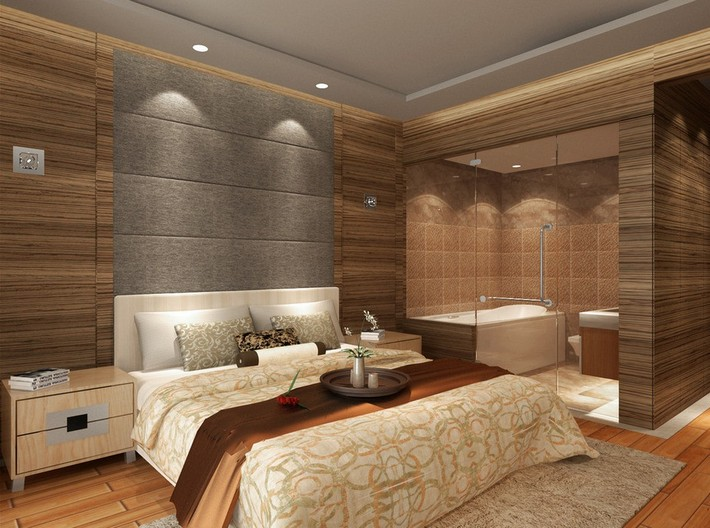 Master Bedrooms With Luxury Bathrooms