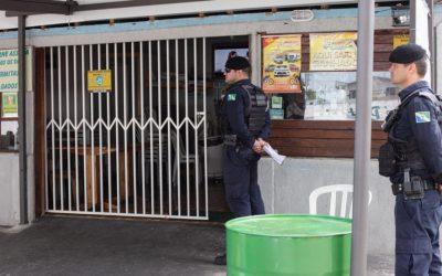 Prefeitura segue fiscalizando comércio que não atende Decreto de fechamento