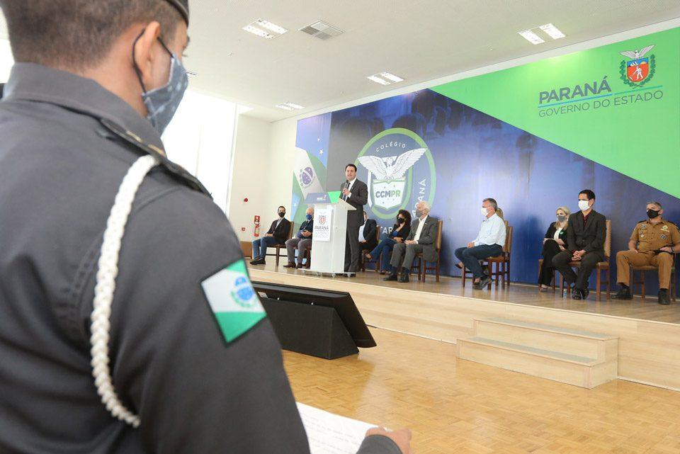 Paraná terá 215 colégios cívico-militares