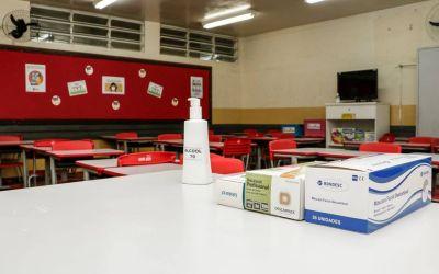 Escolas de Pinhais estão prontas para o retorno às aulas