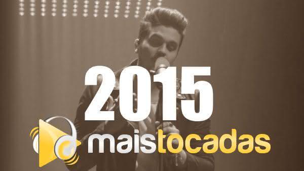Músicas mais tocadas em 2015