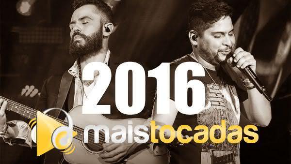 Músicas mais tocadas em 2016