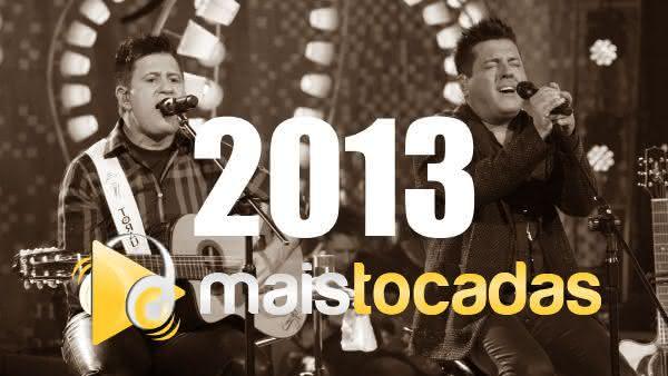 Músicas mais tocadas em 2013