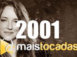 musicas mais tocadas 2001