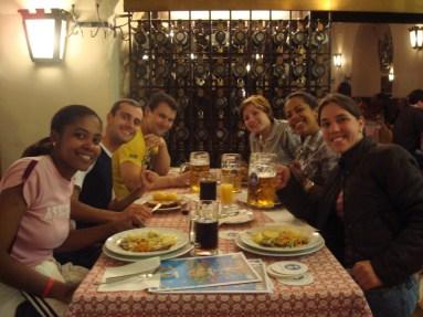 Restaurante típico alemão Hofbräuhaus