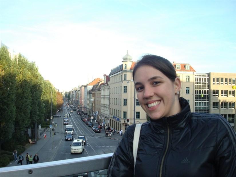 Cidade de Munique, na Alemanha