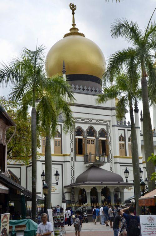 Mesquita Sultan em Singapura