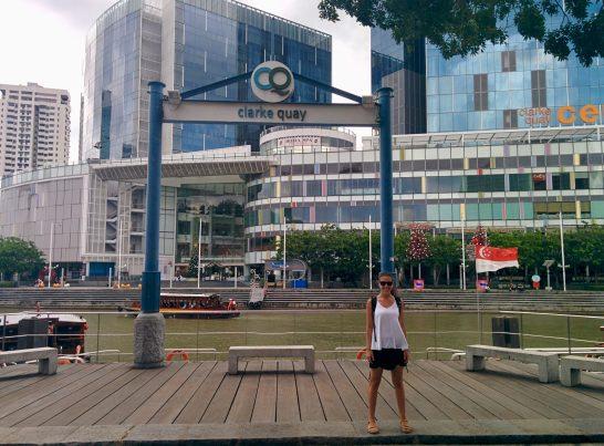 Clarke Quay em Singapura
