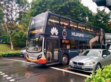 Ônibus de 2 andares em Singapura