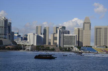 Singapore Bay, barco em Singapura