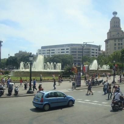 Praça da Catalunha em Barcelona