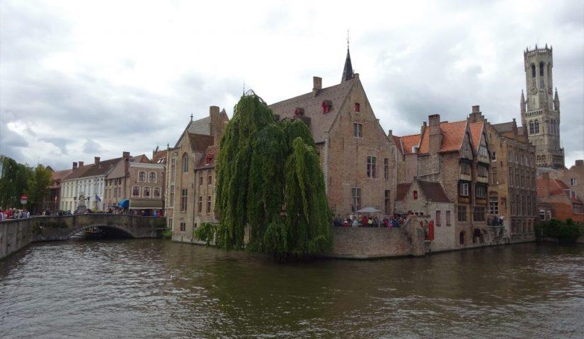 Rozenhoedkaai em Bruges, Bélgica