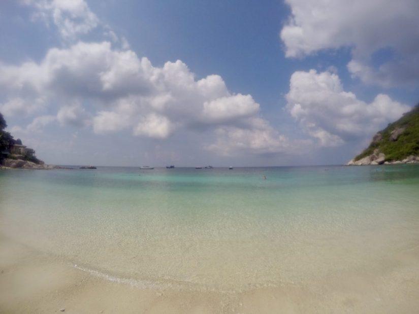 Águas cristalinas, praias da Tailândia