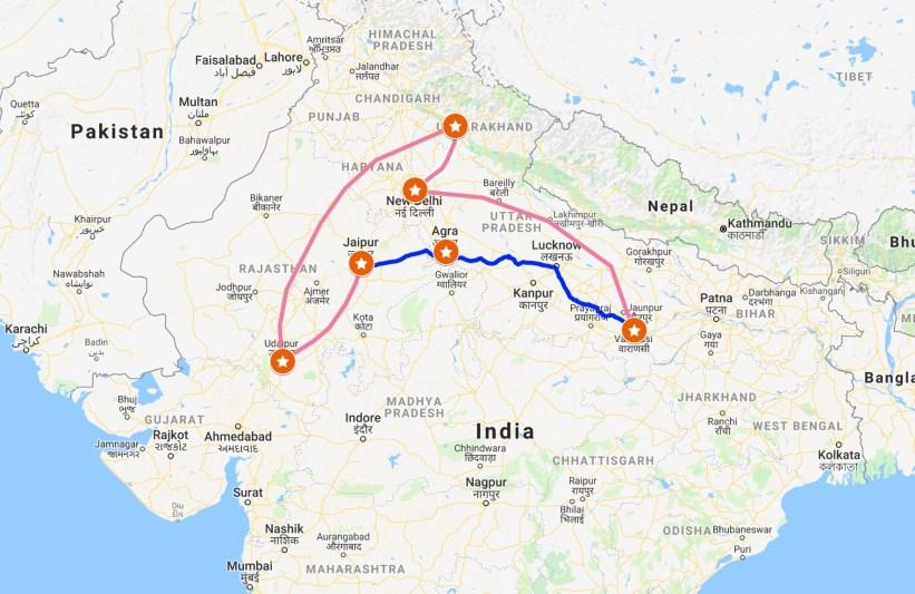 Roteiro Índia, 3 semanas na Índia, Roteiro de viagem Índia, India intinerary