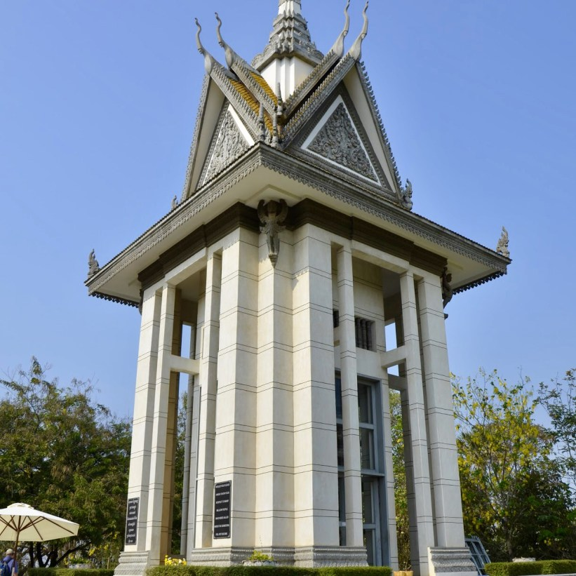Campo de Extermínio Choeung Ek, no Camboja