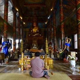 Templo Wat Phnom no Camboja