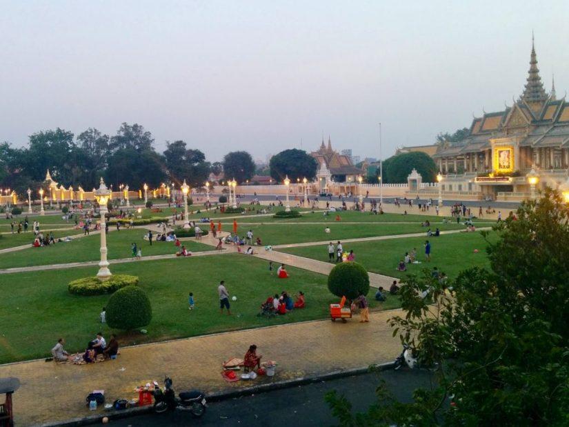 Palácio Real de Phnom Penh, no Camboja.