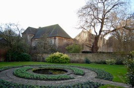 Christ Church College garden