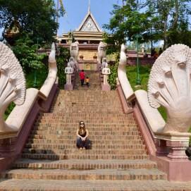 Templo Wat Phnom em Phnom Penh, Camboja