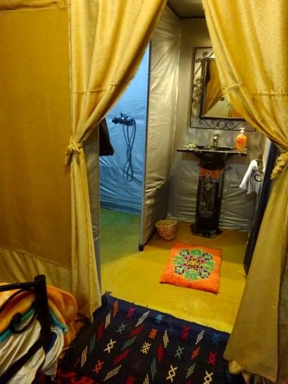 Tenda, acampamento em Merzouga Marrocos